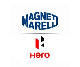 Hero MotoCorp and Magneti Marelli logo