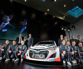 2014 Hyundai i20 WRC launch