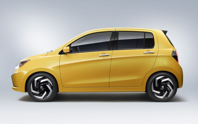 2013 Suzuki A:Wind Concept side profile