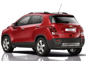 2014 Chevrolet Trax rear three quarters
