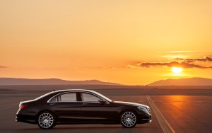 2014 Mercedes Benz S- Class side