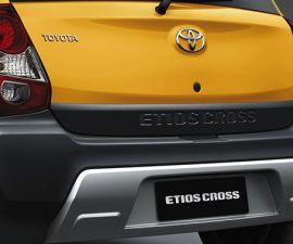 2014 Toyota Etios Cross rear bumper