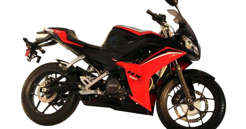 2015 Hero HX250R side