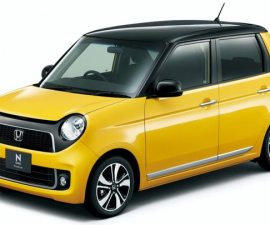 Honda N concept small car