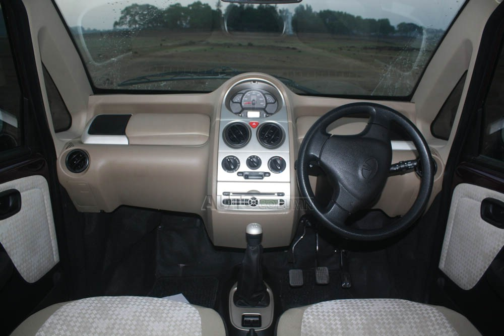 2014 Tata Nano twist dashboard