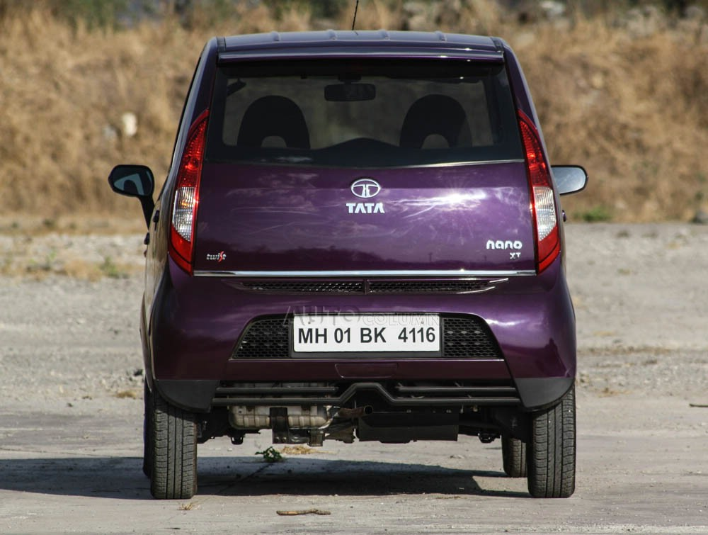 2014 Tata Nano twist rear