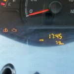 2014 Tata Nano twist distance to empty indicator