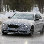 Jaguar XE spied with production ready body