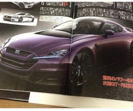 2016 Nissan GT-R R36 leaked