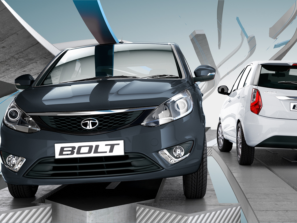 2014 Tata Bolt headlamps
