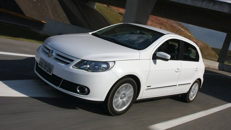 2009 VW Gol used as an illustration