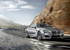2014 BMW M6 Gran Coupe front three quarters