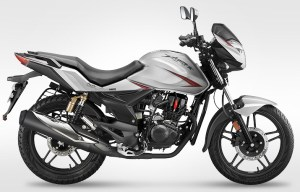 2014 CBZ Xtreme by Hero in silver colour