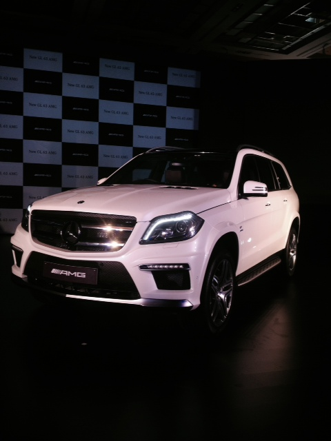 Mercedes-Benz GL 63 AMG in India