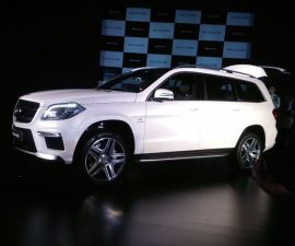 Mercedes-Benz GL63 AMG side profile