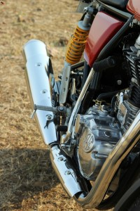 Royal Enfield Continental GT exhaust