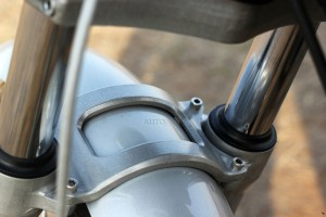 Royal Enfield Continental GT front fender