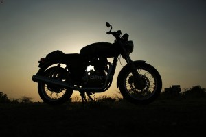 Royal Enfield Continental GT profile