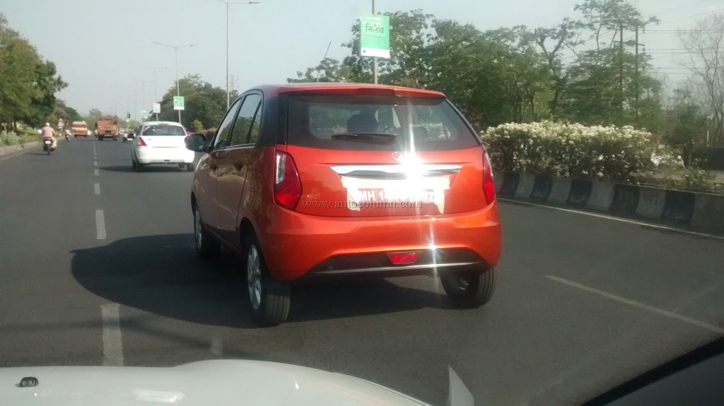 2014 Tata Bolt rear three quarters closup