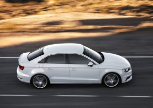 2014 Audi A3 sedan side profile