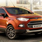 The Ford Ecosport receives the 1,00,000 units sold badge