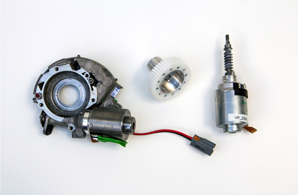 Adaptive steering components by Ford