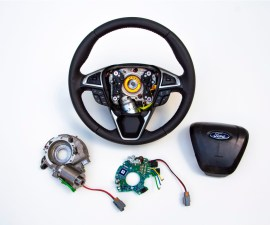 Adaptive steering by Ford