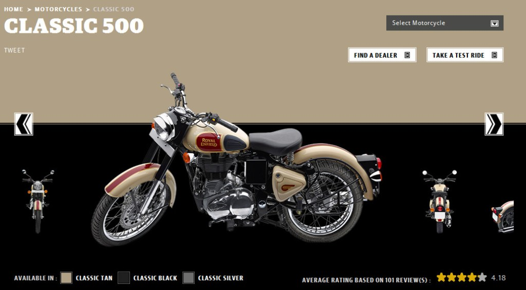 Royal enfield Classic 500 new colours