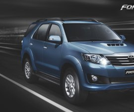 Toyota Fortuner with 2.5 liter engine will launch this year end
