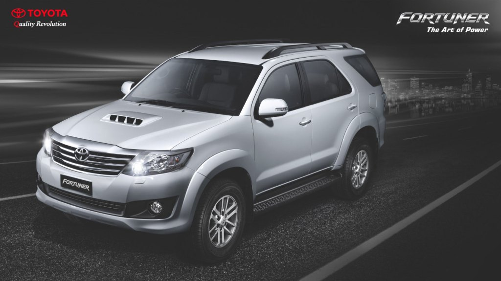 Toyota Fortuner with 2.5 liter engine in the works