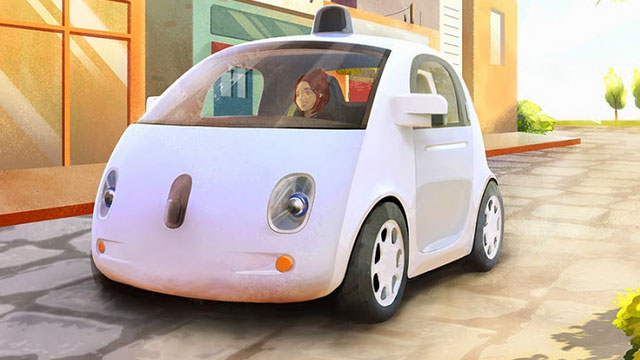 Google car prototype concept