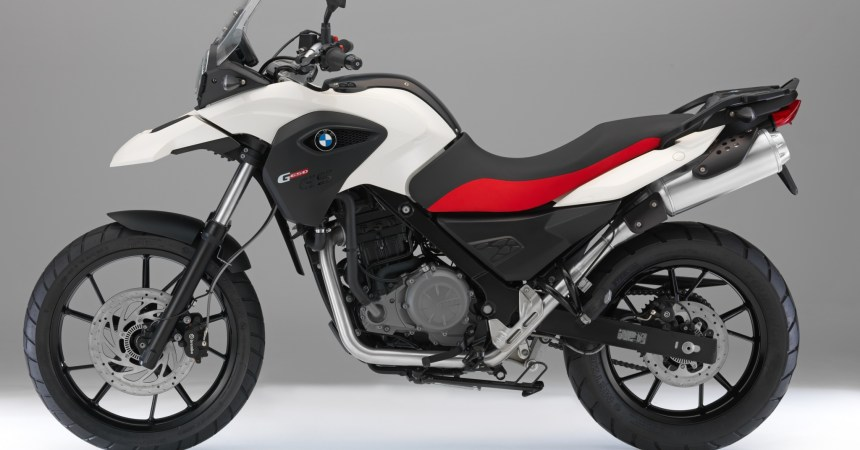 2014 BMW 650 GS side view