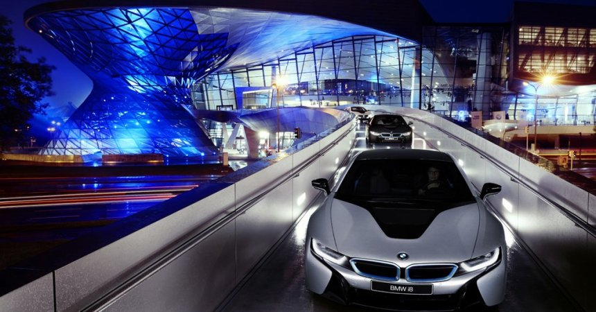 BMW i8 delivery in Germany