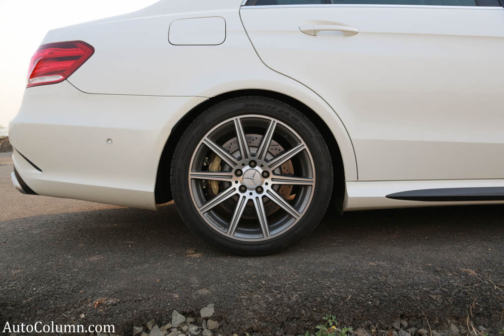 2014 Mercedes Benz E63 AMG sedan rear wheel