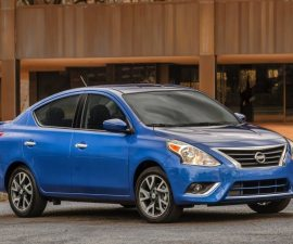2014 Nissan sunny facelift front three quarters