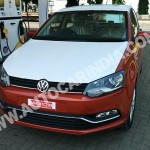 VW Polo facelift spotted in production trim