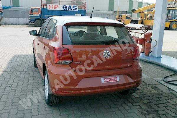 2014 VW Polo facelift rear