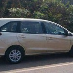 Honda Mobilio Spotted on Indian roads, launch inches closer