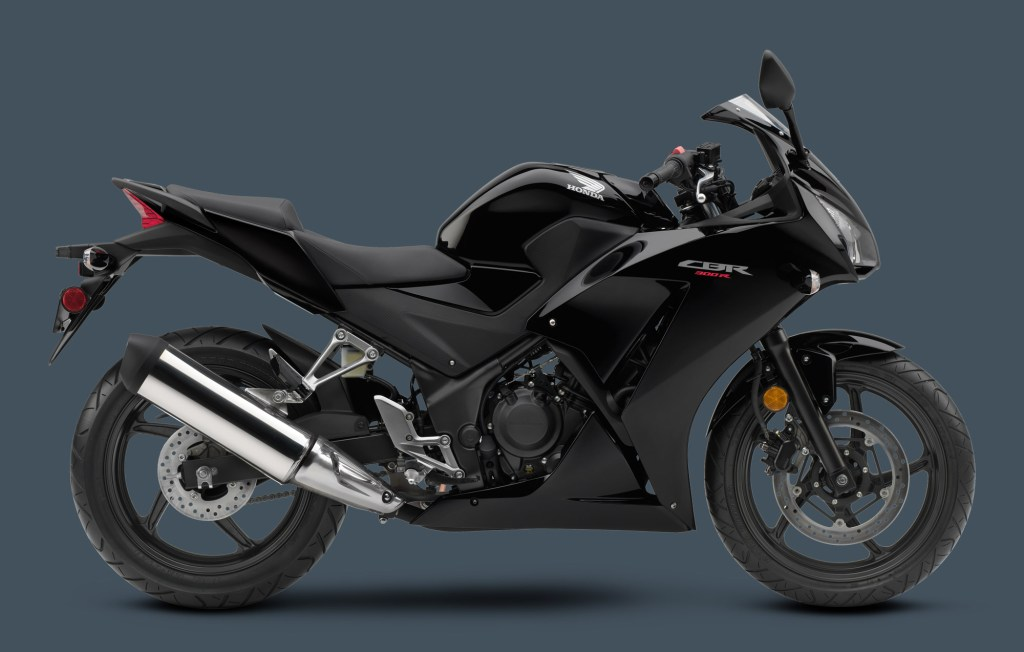2015 Honda CBR 300R black colour