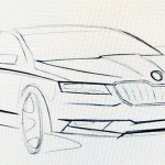 2016 Skoda Superb sketches surface