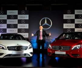 A and B Class Edition1 launched in India