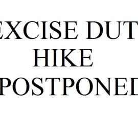 Excise-Duty-Hike-Postponed
