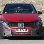 Spied – 2015 Mercedes-Benz B-class W246 Facelift