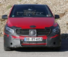 2015 Mercedes Benz spied front profile