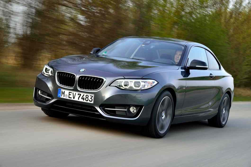 Where Merc and Audi have readied their 4-door saloons, BMW only has the 2-door version till now.