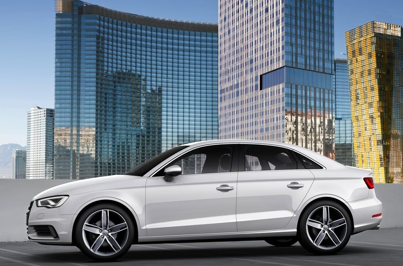 2014 Audi A3 side profile