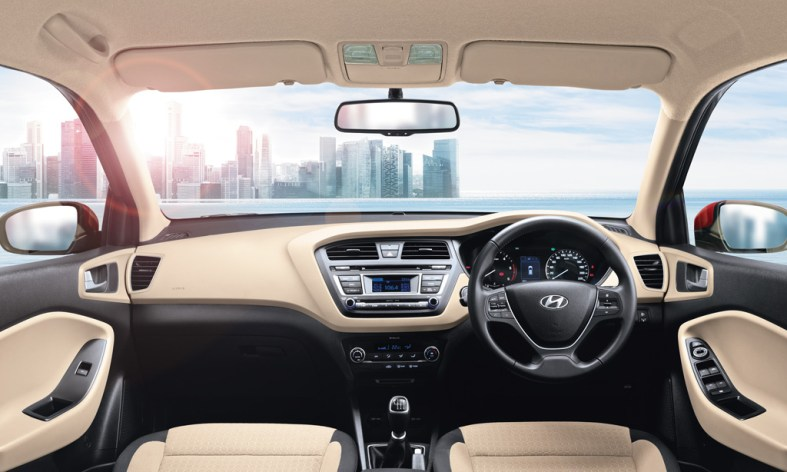2014 Hyundai Elite i20 interior profile