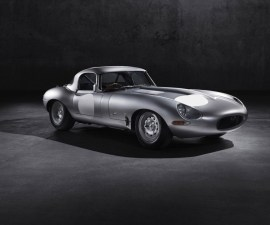 2014 Jaguar Lightweight GT E type side profile