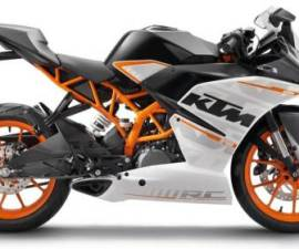 2014 KTM RC390 side profile