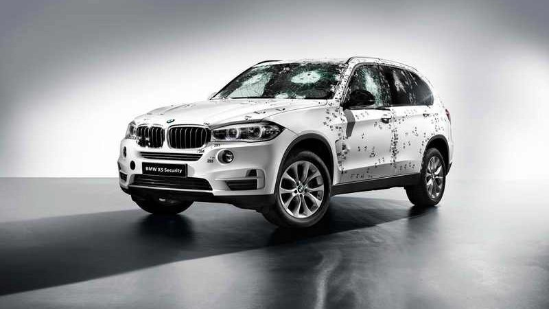 2015 BMW X5 Security Plus profile